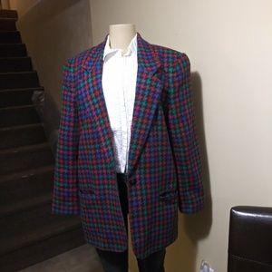Vintage Requirements long blazer